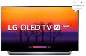 LG Smart 139.7 cm (55 inch) 4K (Ultra HD) LED TV - OLED55C8PTA