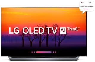 LG Smart 139.7 cm (55 inch) 4K (Ultra HD) LED TV - OLED55C8PTA