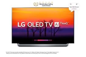 LG Smart 138 cm (55 inch) 4K (Ultra HD) LED TV - OLED55B8PTA