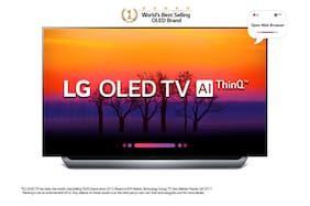 LG Smart 164 cm (65 inch) 4K (Ultra HD) LED TV - OLED65C8PTA