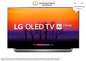 LG Smart 164 cm (65 inch) 4K (Ultra HD) LED TV - OLED65B8PTA