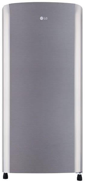 LG 190 L 3 star Direct cool Refrigerator - GL-B201RPZC , Silver