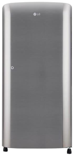 LG 190 L 3 star Direct cool Refrigerator - GL-B201RPZD , Shiny steel