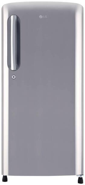 LG 190 L 4 star Direct cool Refrigerator - GL-B201APZY , Silver