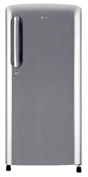 LG 190 L Single Door Refrigerator (GL-B201APZX  Shiny Steel)