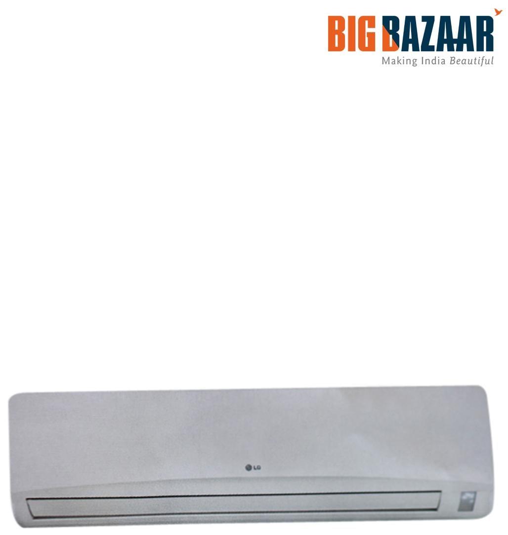 LG 2 Ton 2 Star (2017) Split AC (LSA6NP2F White)