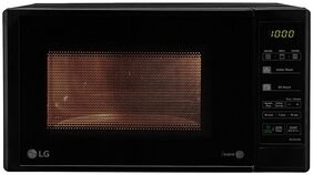 LG 20 L Grill Microwave Oven ( Mh2044db , Black )