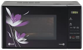 LG 20 L Solo Microwave Oven - MS2043BP , Black