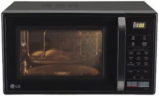 LG 21 L Convection Microwave Oven - MC2146BL , Black