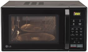 LG 21 L Convection Microwave Oven - MC2146BV , Black