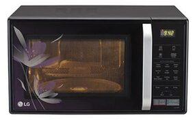 LG 21 L Convection Microwave Oven (MC2146BP, Black)