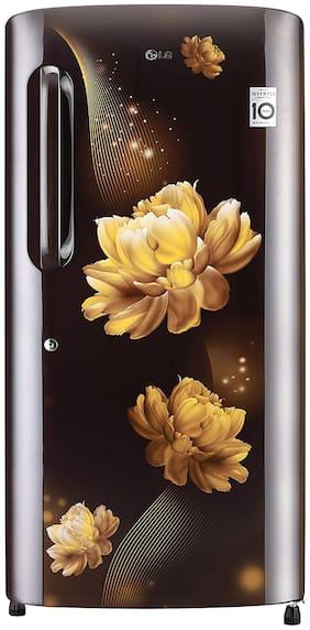 LG 215 L 4 star Frost free Refrigerator - GL-B221AHCY , Hazel charm