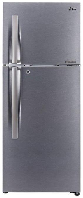 LG 260 L 2 star Frost free Refrigerator - S292RDSY , Dazzle steel