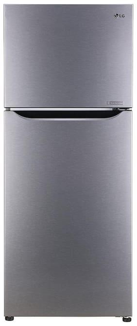 LG 260 L 3 star Frost free Refrigerator - GL-N292DDSY , Silver
