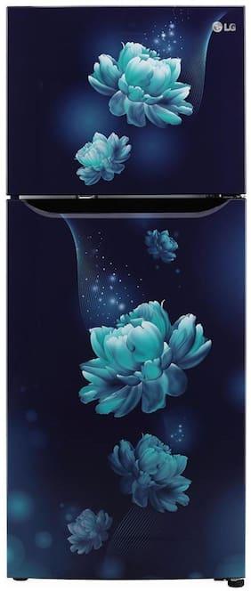 LG 260 L 3 star Frost free Refrigerator - GL-T292SBC3 , Blue charm