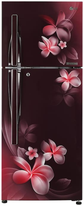 LG 260 L 4 star Linear cooling Refrigerator - GL-T292RSPN