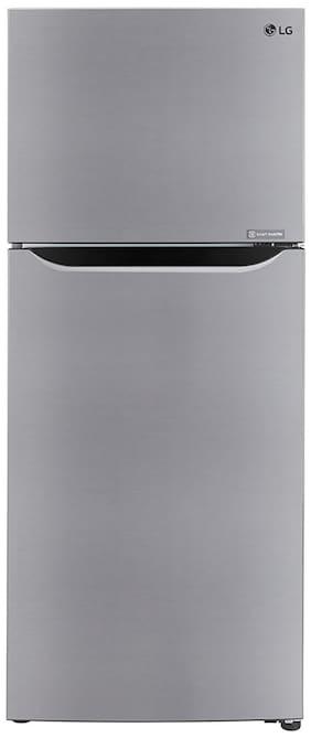 LG 260 L 3 star Frost free Refrigerator - GL-T292SPZ3 , Shiny steel