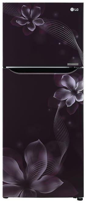 LG 260 Ltr 3 Star Frost Free Refrigerator - GL-N292DPOY , Purple Orchid
