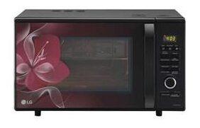 LG 28 L Convection Microwave Oven ( Mj2886bwum , Black )