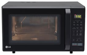 LG 28 ltr Convection Microwave Oven - MC2846BV , Black