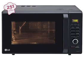 LG 28 ltr Convection Microwave Oven - MC2886BFUM , Black