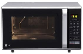 LG 28 ltr Convection Microwave Oven - MC2846SL , Silver