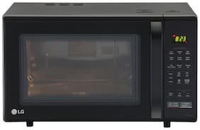 LG 28 L Convection Microwave Oven - MC2846BG , Black