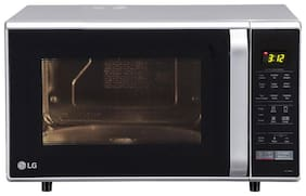 LG 28 L Convection Microwave Oven - MC2846SL , Silver