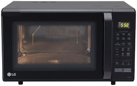 LG 28 l Convection Microwave Oven - MC2846BV , Black