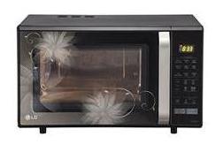 LG 28 L Convection Microwave Oven (MC2846BCT, Black)