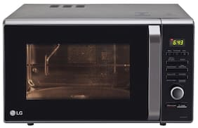 LG 28 ltr Convection Microwave Oven - MJ2886BFUM , Black