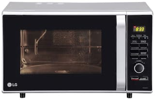 LG 28 L Convection Microwave Oven - MC2886SFU , Silver