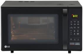 LG 28 L Convection Microwave Oven - MC2846BG , Black