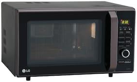 LG 28 L Convection Microwave Oven - MC2886BLT , Black (dusky brown)