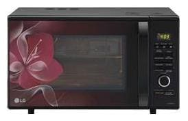 LG 28 L Convection Microwave Oven - MJ2886BWUM , Black
