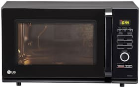 LG 32 ltr Convection Microwave Oven - MC3286BLT , Black