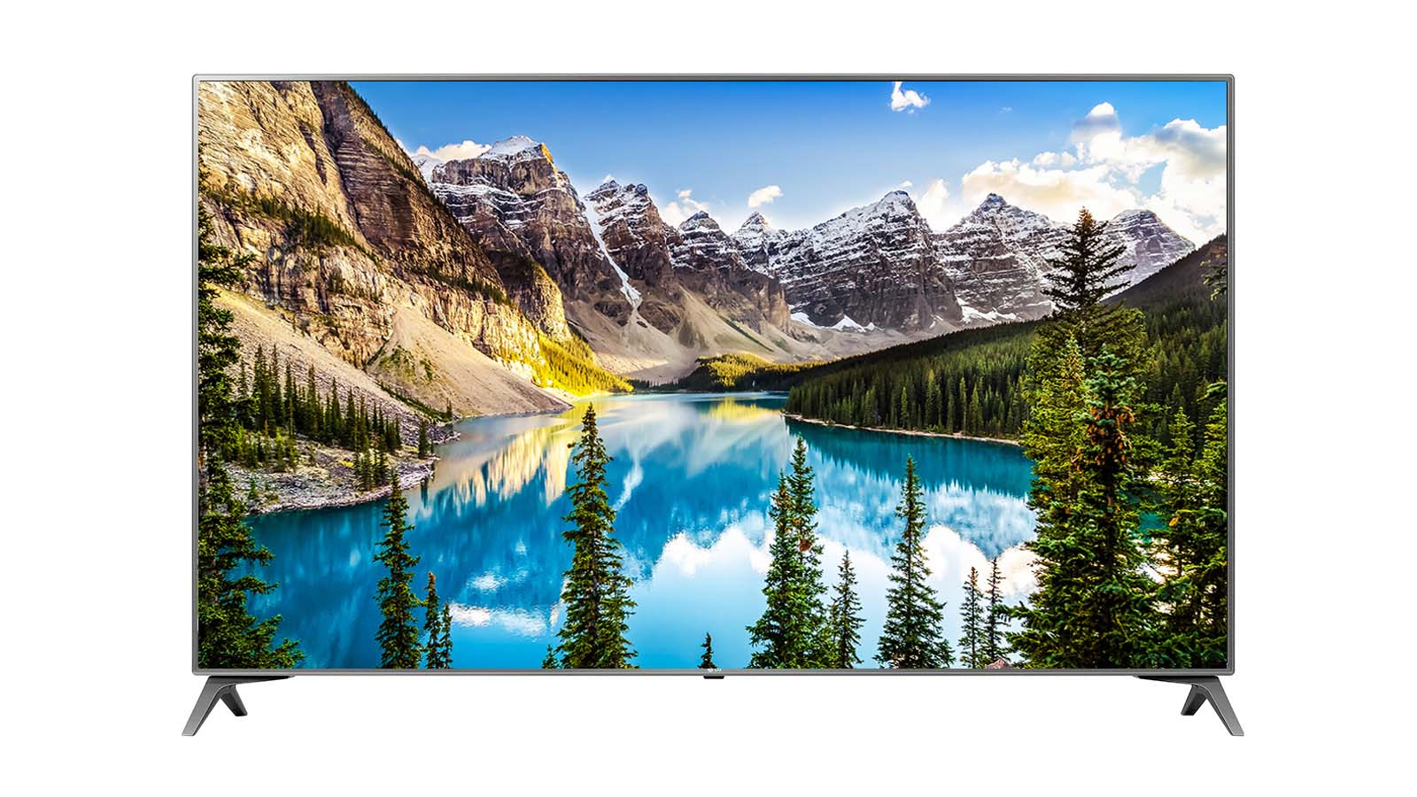 LG 43 Inches Ultra HD (4K) LED Smart TV (43UJ652T, Grey)