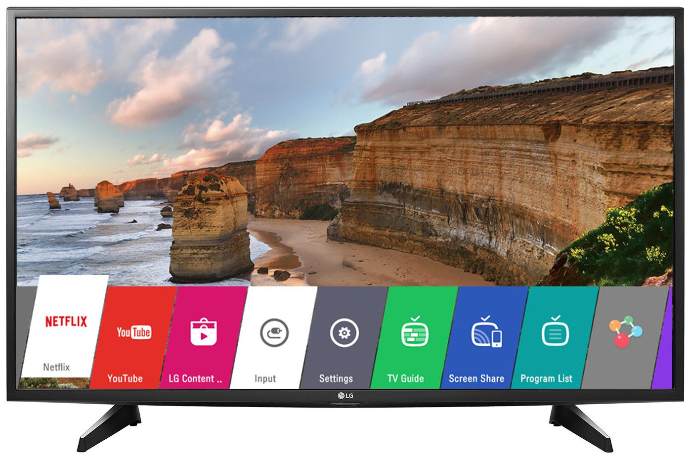 LG 43 Inches Full HD LED Smart TV (43LH576T, Black)