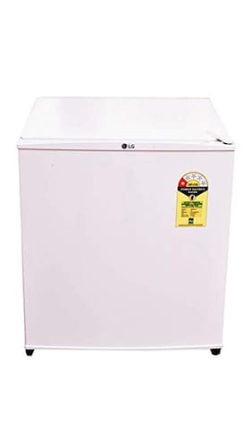 LG Direct Cool 45 L Single Door Refrigerator (GL-051SSW, White)