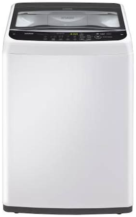LG 6.2 kg Fully automatic top load Washing machine - T7288NDDL , White