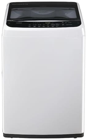 LG 6.2 Kg Fully automatic top load Washer only - T7288NDDLA , Silver