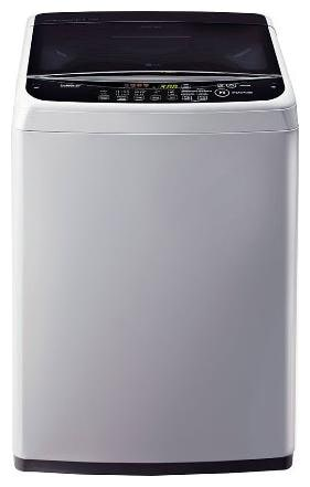 LG 6.2 Kg Fully automatic top load Washing machine   T7288NDDLG , Silver by Super Electronics