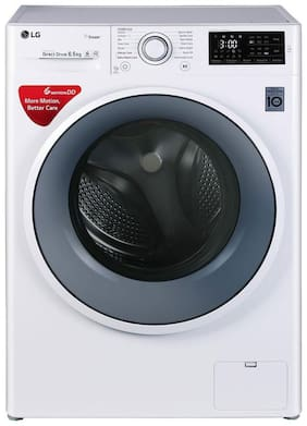 LG 6.5 Kg Fully automatic front load Washing machine - FHT1065SNW , White