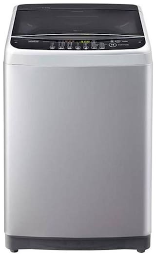 LG 6.5 Kg Fully automatic top load Washing machine - T7581 NEDL1 BTR , Free silver