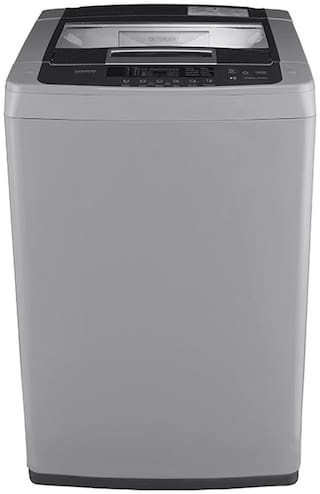 LG 6.5 Kg Fully automatic top load Washing machine - T7569NDDLH.ASFPEIL , Middle free silver