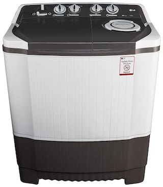 LG 6.5 Kg Semi automatic top load Washing machine - P7550R3FA , Dark grey