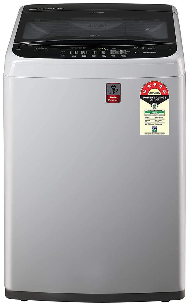 LG 6.5 kg Semi Automatic Top Load Washing Machine (T65SPSF2Z, Middle Free...