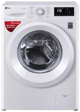 LG 6.8 Kg Semi automatic top load Washing machine - FHT1006HNW , Purple & White