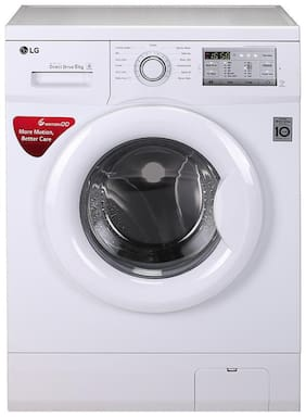 LG 6 Kg Fully automatic front load Washing machine - FH0H3NDNL02 , White