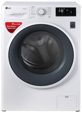 LG 6 Kg Fully automatic front load Washing machine - FHT1006SNW , White